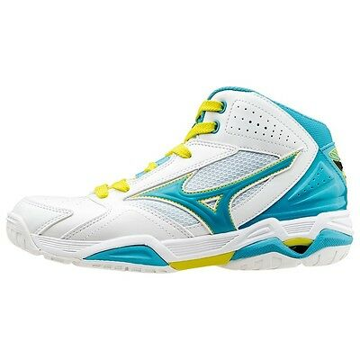 MIZUNO Basketball shoes WAVE PRIDE BB3 W1GB1550 White X sax X lime