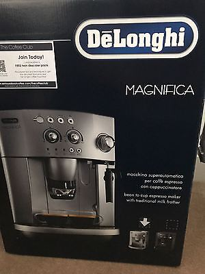 NEW Delonghi Magnifica ESAM4200.S Compact Bean to Cup Coffee Machine Silver