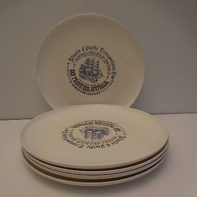 Assiettes PETREL PELICAN OSCEOLA SHIPPED made in Italy