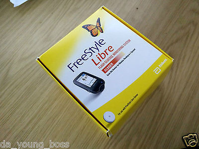 Abbott Freestyle Libre Flash Glucose Reader Monitoring System/Meter/Monitor