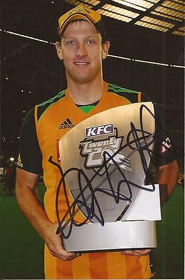AUSTRALIA * CAMERON WHITE SIGNED 6x4 CELEBRATION PORTRAIT PHOTO+COA