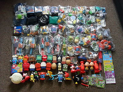 Huge Bundle Of 98 Mcdonalds Happy Meal Toys 56 New Stocking Filler Party Favour