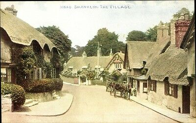Ak Shanklin Isle of Wight South East England, The Village, Dorf,... - 1187647
