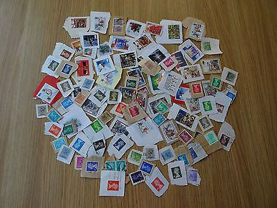 Stamps Great Britain   90 All Different /  Mixture / Collection    Gb