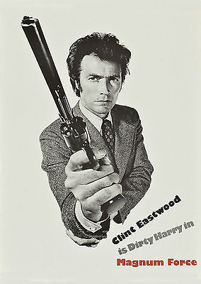 Magnum Force (1973) - A1/A2 POSTER **BUY ANY 2 AND GET 1 FREE OFFER**