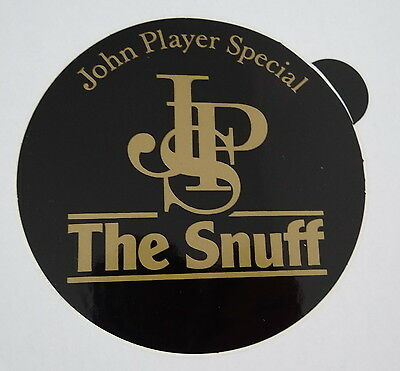 Aufkleber JPS John Player Special The Snuff 80er Sticker Autocollant