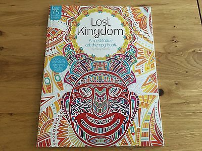Lost Kingdom: A meditative art therapy adult colouring book NEW