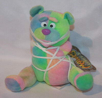 """Meanies """"Tied The Bear"""" Series 3 Beanie Plush With Tag"""