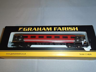 1x Graham Farish N gauge 374-750A MK2 First Open Virgin Trains Coach