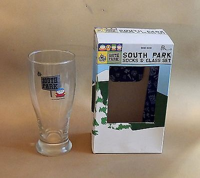BHS issued South Park Cartman pint glass - 1999, unused and boxed