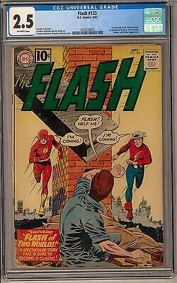 Flash #123 CGC 2.5 (OW) 1st Golden Age Flash in Silver Age