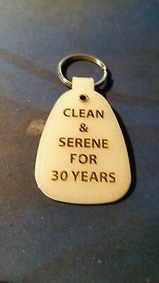 NARCOTICS ANONYMOUS   30 years   NA MOON GLOW KEY TAG ANNIVERSARY