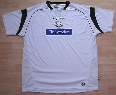 Derby County 2006 Home Joma Football Soccer Shirt Jersey Top Xxl Adult