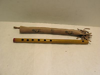 Lake Tobias Souvenir Flute With Leather Case