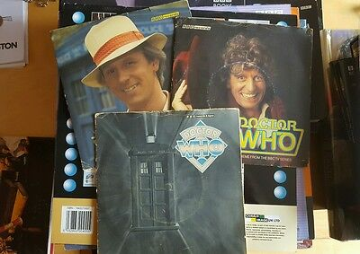 DR WHO - Theme From The BBC TV Series - 1981 UK 2-track Vinyl Single