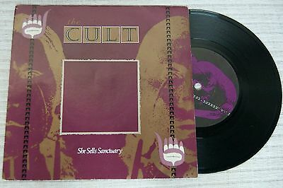 The CULT  - She Sells Sanctuary 7 inch vinyl UK EX will post world wide