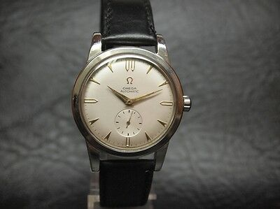 1946 VINTAGE JUMBO OMEGA AUTOMATIC BUMPER Cal.332 STAINLESS STEEL