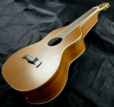 Electro-Acoustic Weissenborn Style Lap Guitar - Mahogany Deep Body