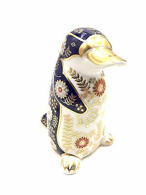 """Royal Crown Derby Platipus Porcelain Paperweight 5"""" tall"""