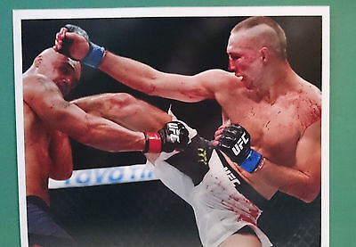 Rory MacDonald and Robbie Lawler UFC Photograph Print 8*10 Fighters MMA