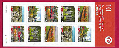 2016  Canada    New Booklet    UNESCO WORLD HERITAGE SITES       New & VF-NH