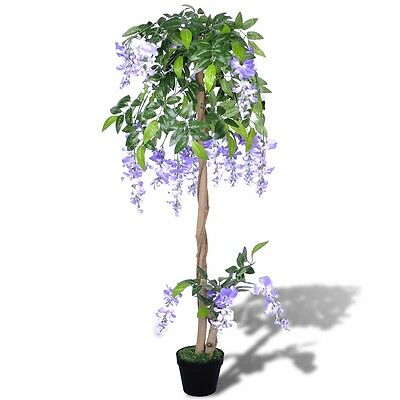 #sNEW Artificial Wisteria with Pot 120 cm Fake Plant Arrangement Home Decor