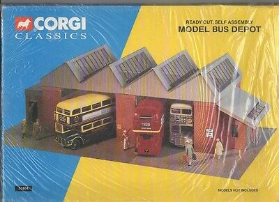 Dismantling collection narrow gauge books Corgi 4mm scale Bus Station