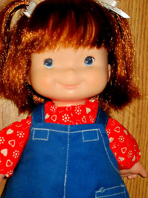 Fisher Price Audrey Lapsitter Doll 203; Restored To Excellent Clean Condition