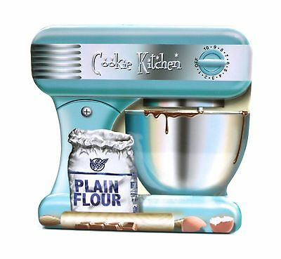 Silver Crane Company Biscuit Novelty Tin Dough Mixer Blender Food Processor