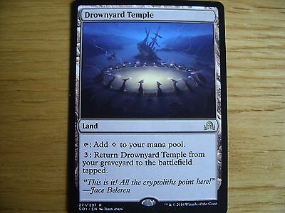 MtG Drownyard Temple Magic the Gathering Shadows Over Innistrad CCG
