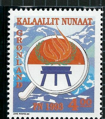 Greenland 1993 Int Year of Indigenous Peoples SG246 mint stamp