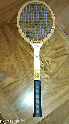 Wilson The Jack Kramer Autograph Vintage Wood Tennis Racquet 4-5/8 Medium