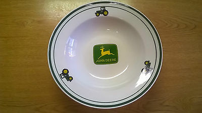 Set Of 3 John Deere Bowls, Marketed By Gibson