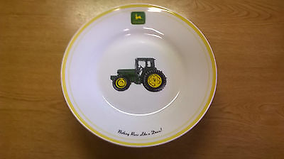 Set Of 3 John Deere Salad Plates, Marketed By Gibson