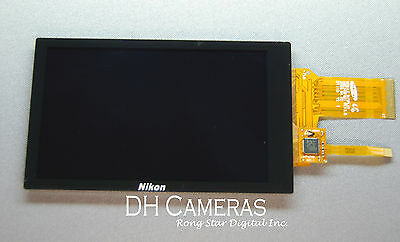 Original LCD Display Screen Replacement For Nikon S80 S100 Camera+Backlight