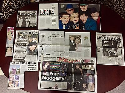 Madonna Various Magazine And Newspaper Articles Cuttings Pack 1