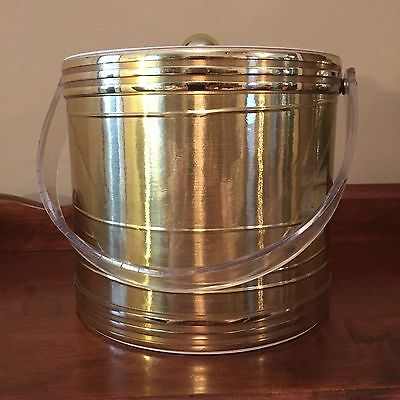 Copper Colored 3 Qt. -Ice Bucket With Lid