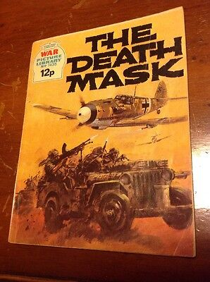 War Picture Library No.1435 To The Death Mask Comic