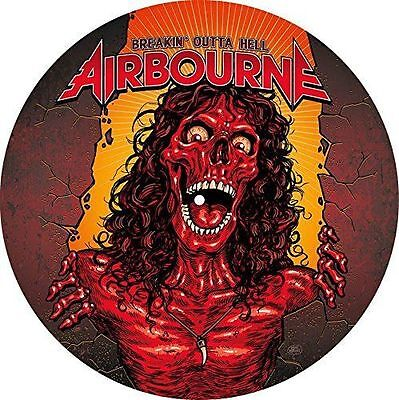 """Airbourne """"Breakin' Outta Hell"""" Picture Disc Vinyl LP Record (New) U.K.FreePost"""