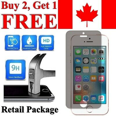 Privacy Anti-Spy Tempered Glass Screen Protector for iPhone 5 / 5S / 5C / SE