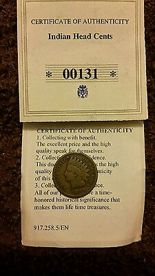 Indian Head One Cent USA 1980 19MM Coin