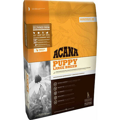 Acana Dog Heritage Puppy Large Breed Secco Crocchette Per Cani 11,4 Kg