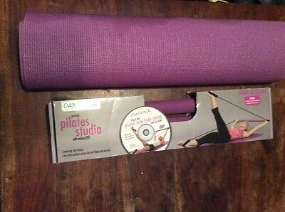Portable Pilates Studio With Workout Dvd And Mat