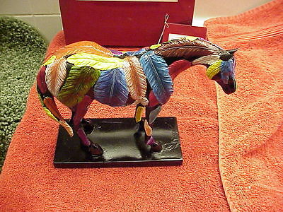 """The Trail Of Painted Ponies- """"HORSEFEATHERS"""" 2nd Ed  #9151  MIB/ Card"""