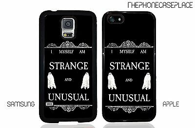 Beetlejuice Strange and Unusual Phone Case for Apple iPhone and Samsung Phones