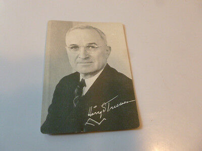 Harry Truman 1948 Democratic Forward With Votes By States Presidential Campaign