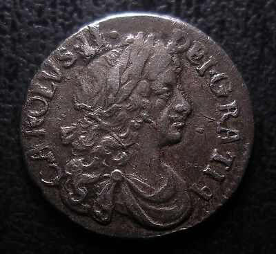 1679 Charles Ii Maundy Twopence