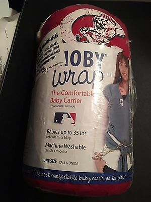 Moby Wrap MLB Edition - Baby Carrier - Cincinnati Reds - Red - Authentic