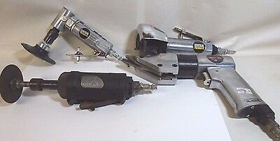 Lot of  (4) Pneumatic air Tools: Grinders....