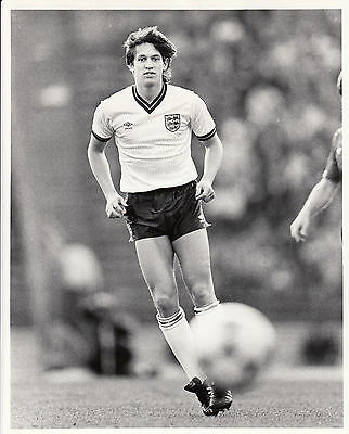 12 press photographs of 1980s England footballers.